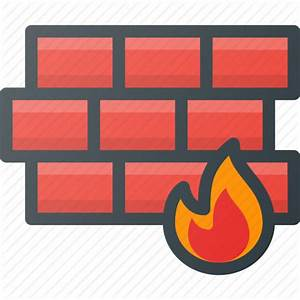 Firewall  Internet  Network  Protection  Security Icon