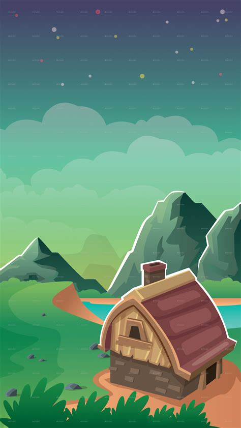 4 Vertical Game Background By Keenarstudio Graphicriver