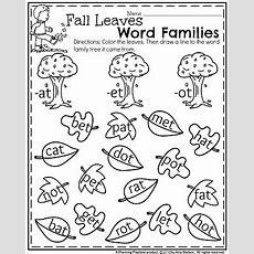 November Kindergarten Worksheets  Planning Playtime