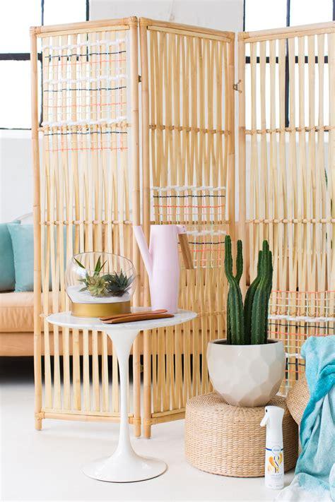 Diy Ikea Hack Woven Room Divider  Sugar & Cloth Diy