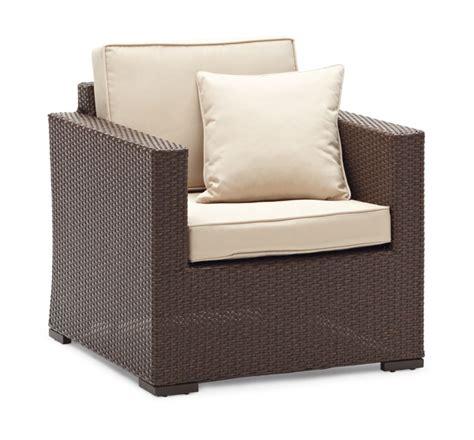 strathwood griffen all weather wicker chair brown
