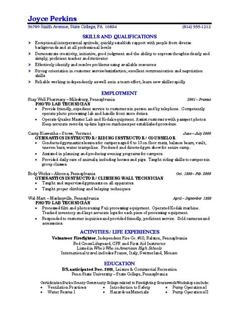 sample resume for college sample resume college student learnhowtoloseweight net
