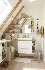 4 conseils pour une salle de bain sous les toits BienChezMoi