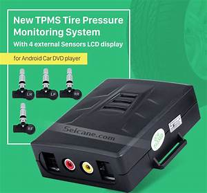 New Tpms Tire Pressure Monitoring System For Android Car