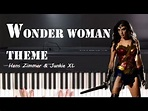 Wonder Woman Theme | Is She With You ? [ piano cover ...