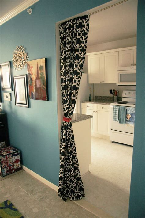 Oriental Pattern Bedroom Divider Curtains Mixed White