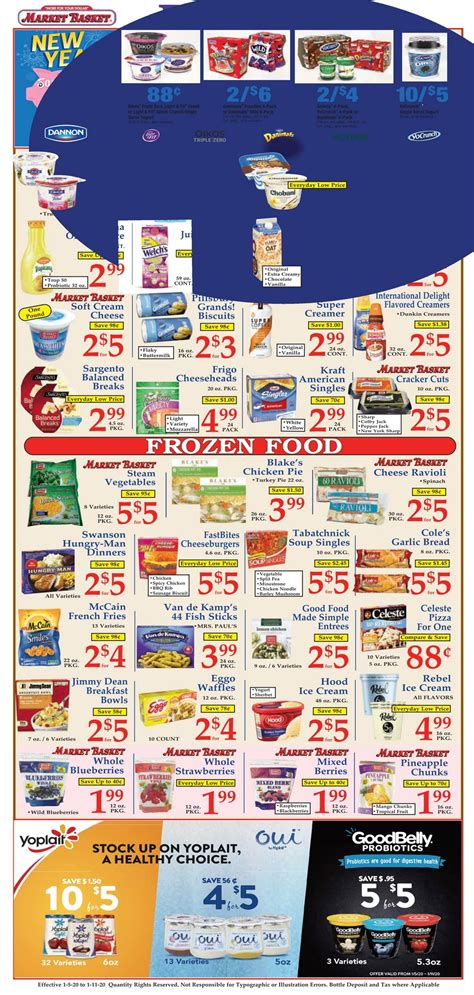 market basket weekly flyer jan  jan