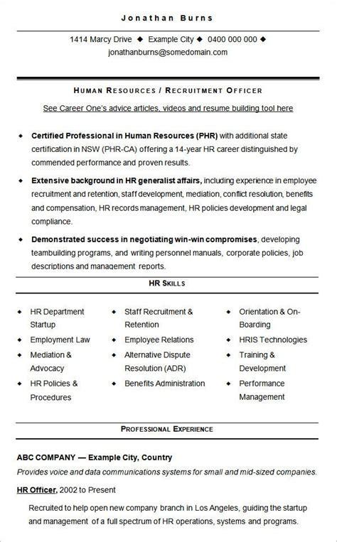 hr resume cv templates hr templates  premium templates  premium templates