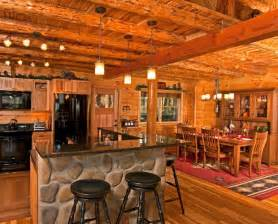 Pictures Of Log Home Interiors Rustic Log Cabin Interior Design Beautiful Log Cabin Dining Rooms Low Ceilings