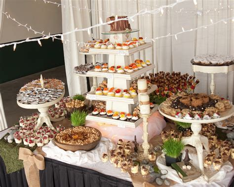 dessert buffet ideas recipes have your friends and family help out with dessert at your reception