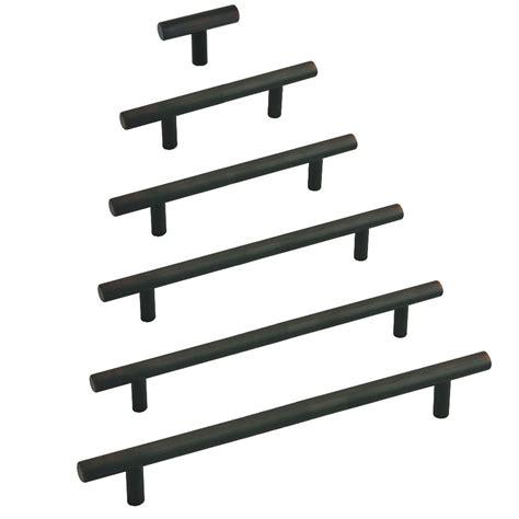 black cabinet bar pulls bar pulls oil brushed bronze 1 1 2 to 24 inch lengths