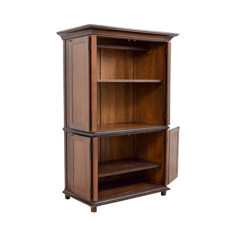 Storage Armoire With Shelves by 75 Pottery Barn Pottery Barn Armoire With Shelves
