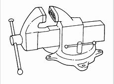bench vise drawing 28 images bench vise drawing baby