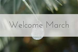 monthly welcome
