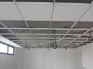 Installer Faux Plafond : installation de faux plafonds dans vos bureaux dans le rh ne agebat ~ Melissatoandfro.com Idées de Décoration