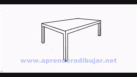 dessin d 39 une table en perspective comment dessiner