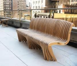Garden Seats Wooden Photo