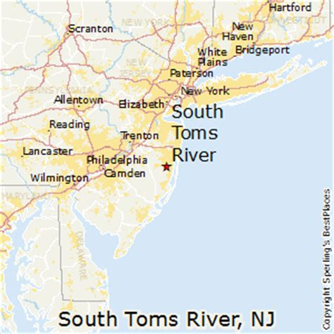 places    south toms river  jersey