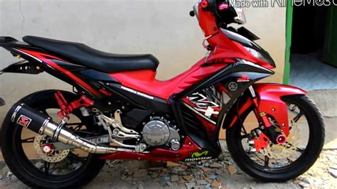 Variasi Jupiter Mx 135 top modifikasi motor jupiter mx terbaru modifikasi motor