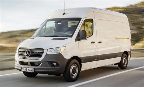 2019 Mercedes Sprinter Van Priced From £24,350 In Uk