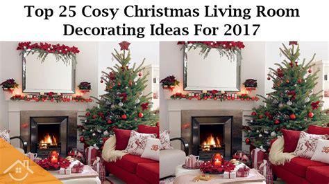 living room christmas decorating ideas  www