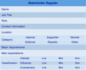 Even Point Excel Template Stakeholder Register Template
