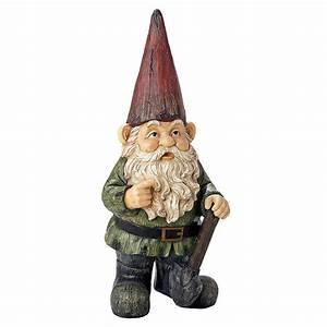 Gigantic Garden Gnome Statue - The Green Head