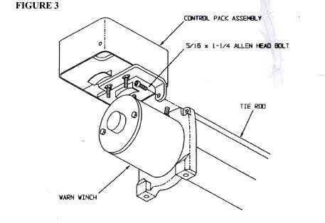 winch cradle kit toms bronco parts