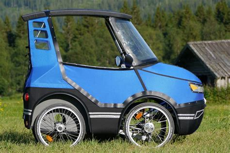 This Fourwheeled Bicycle Car Is Going To Change The Way