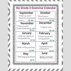 2nd Grade Common Core Grammar  Grammar 2nd Grade Lessons