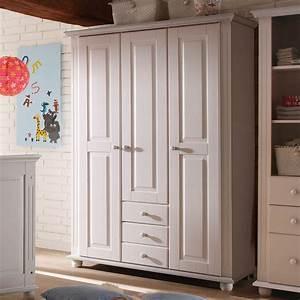 Kleiderschrank 350 Cm Breit : kleiderschrank laura kinderzimmer schrank kiefer massiv in wei 130 cm ebay ~ Bigdaddyawards.com Haus und Dekorationen