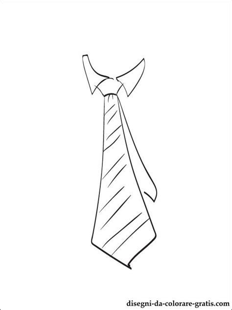 cravatta disegni da colorare  stampare disegni da