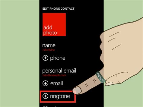 how to change ringtone android 4 ways to change a ringtone on a windows phone wikihow