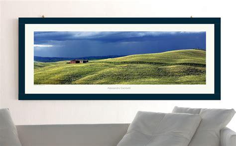 poster cornice alessandro gambetti poster paesaggio toscano con cornice