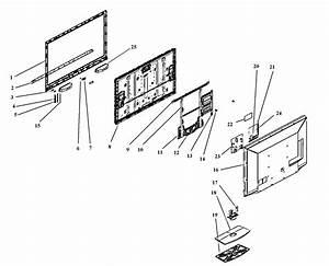 Vizio Model E550va Lcd Television Genuine Parts