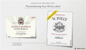 design great custom wine labels with these tips wine folly With create own wine label