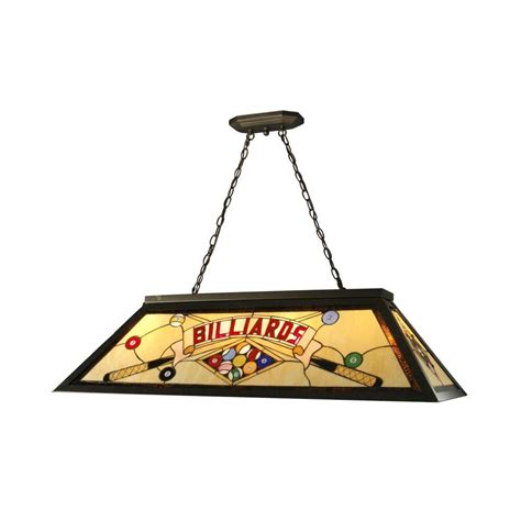 springdale lighting 4 light antique bronze billiard pool