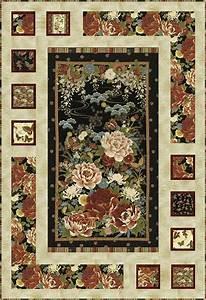 Oriental Harmony Quilt Kit Keepsake Quilting