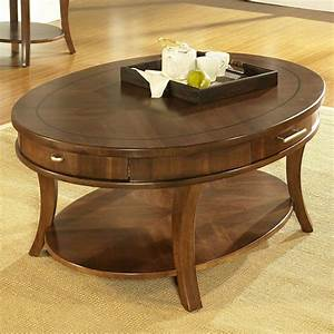 Oval coffee table design images photos pictures for Coffee table sets with drawers
