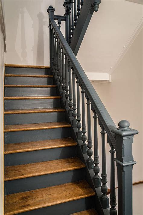 les 25 meilleures id 233 es concernant escaliers peints en noir sur peinture d escaliers