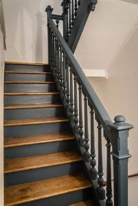 17 meilleures idees a propos de cage d39escalier noire sur With peindre rampe escalier bois 0 comment repeindre facilement un escalier en bois