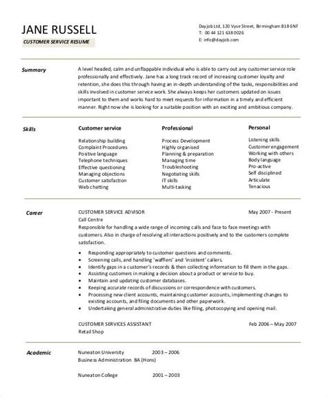 Customer Support Resume by Best 25 Resume Objective Ideas On