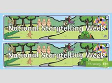 National Storytelling Week 2019 Teaching Resources