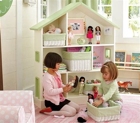 pottery barn dollhouse bookcase dollhouse bookcase pottery barn kids furniture pinterest