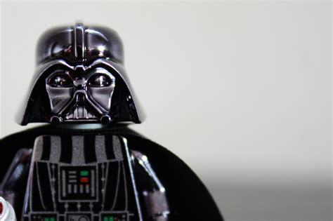 lego vader chrome edition flickr photo