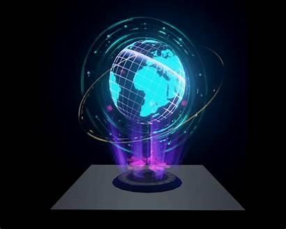 Hologram Globe Sci Fi Technology Ue4 Shader