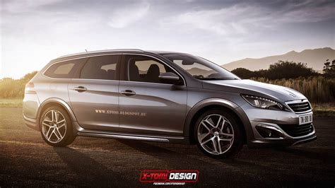 siege 308 sw peugeot 308 rxh looks ready to take on volkswagen golf