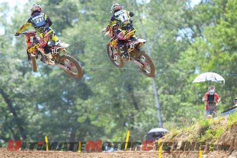 ama motocross rules washougal motocross trey canard on top