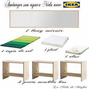 amenager l39espace nido a moindre cout avec ikea le nido With terrasse a moindre cout