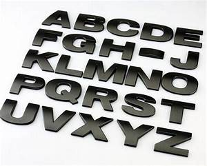Aliexpresscom buy top quality car styling 3d metal for 3d metal letters for sale